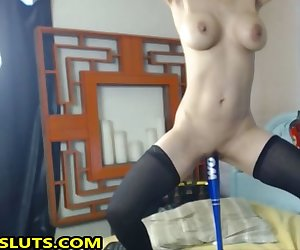 Drilling And Baseball Bate Her Pussy Fetish