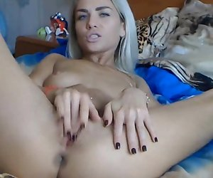 Kinky blonde in need of dp fingering
