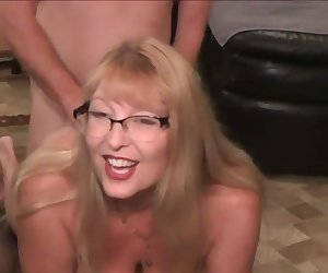 Mature Squirting Mom and Dad