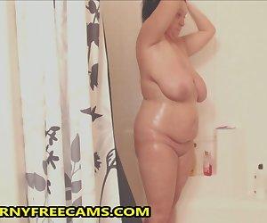 Spy Cam In My Stepmoms Bathroom