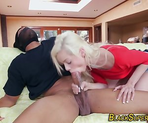 Teen bang black intruder