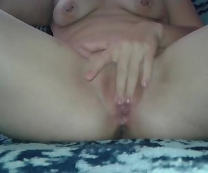 Anal toying and pussy fingering