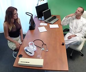 Doctor Fucks Minx in Job Interview