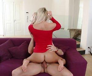 Sexi Blonde Vanessa Jordin Fuck