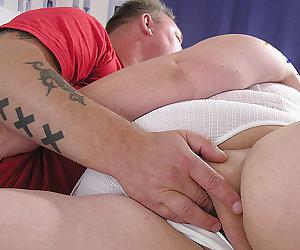This chunky mature slut loves her big boyfriend