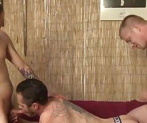 Damon Dogg with Blake Daniels and Rowdy McBeal