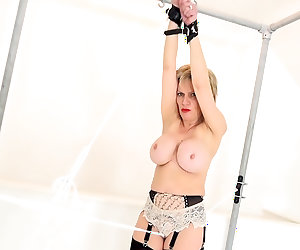Trapped Housewife Forced To Cum!