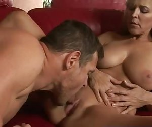Blonde milf Nicole Moore loud moaning when fucked