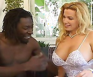Blonde Big Tit Milf gets Black Dick