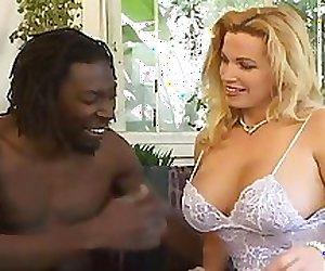Blonde Big Tit Milf gets Black Dick