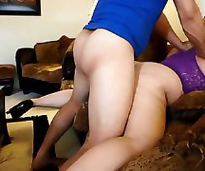 PAWG BBW getting fucked in the ass
