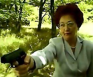 Mature Redhead Slut Fucking Outdoors