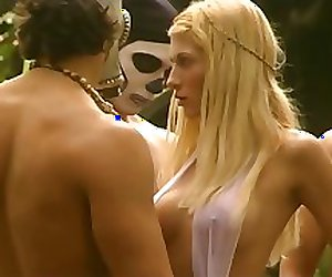 Blonde Pussy Cunt Fotze Fucks 3 Men