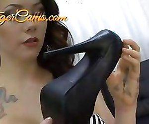 Sexy Feet In Pantyhose