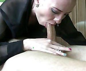 Snotty deepthroat