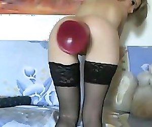 huge red plug