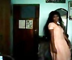 Southindian TAMIL Hot Girl Saona filmed herself
