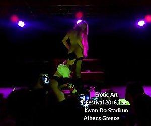 Lola Taylor in Athens Erotic Art Festival 2016