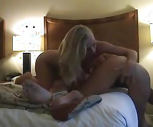 Hot Amateur Hotel Threesome