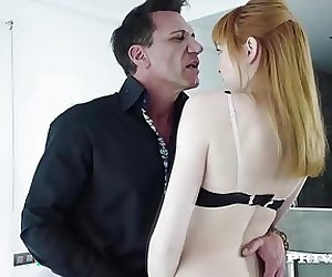 Red Head Teen Aurora Cheats On her Boyfriend