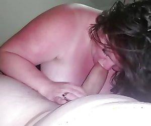 chubby huge tits bj 8