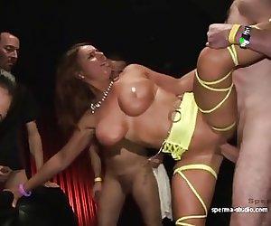 Gangbang Cum Sensation  - Sexy Susi & Mariska - P2 -------