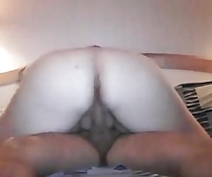 Small cock in chubby pussy