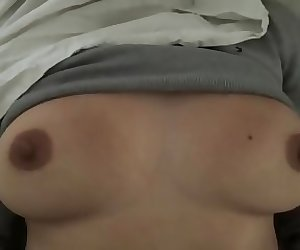 Big Natural Boobs Jiggling and Fondled While I'm Fucked Slow