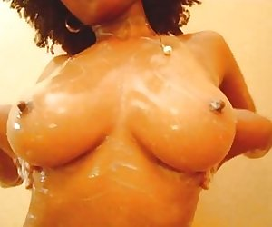 Busty Black Teen - Nude home made videos