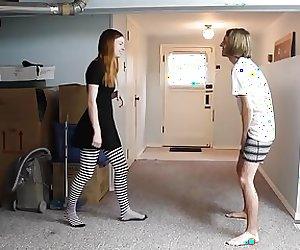 Teen Girl Ballbusting Her Boyfriend
