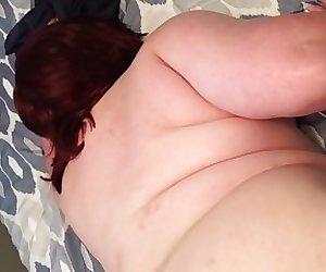 BBW wife doggy style with Orgasm