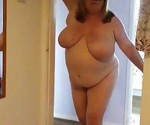 My BBW filmed by punter on meet