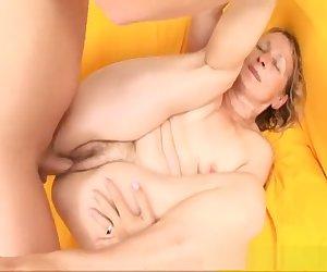 Hottest pornstar in incredible cumshots, mature porn clip