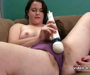 Paulette in Masturbation Movie - ATKHairy