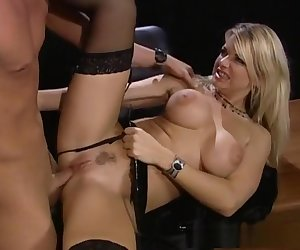 Amazing pornstar Vicky Vette in hottest big tits, fishnet xxx scene