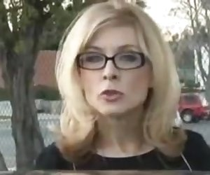 Nina Hartley Invites 2 Black Guys To The House