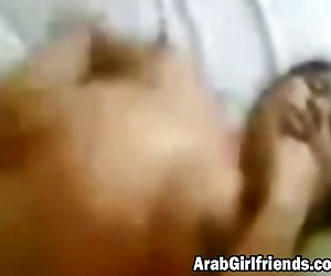 Arab couple makes awesome sex video