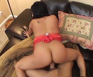 Crazy pornstar in horny brunette, facial porn video