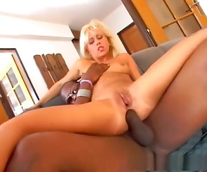 Incredible pornstar Lucy Anne in amazing blonde, threesomes porn clip